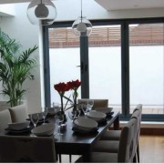 Kitchen bifold doors