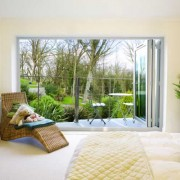 Bedroom bifold doors