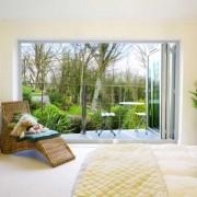 Bedroom bifold doors