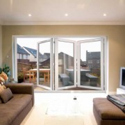 Bifold doors in lounge