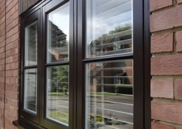 Timber casement window installation