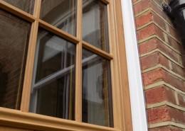 Timber effect solidoor composite door