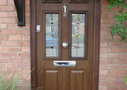 Composite door installation