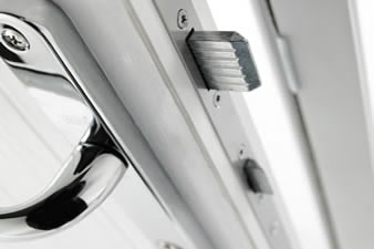 Composite door security locks