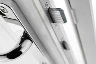 Composite door security locks