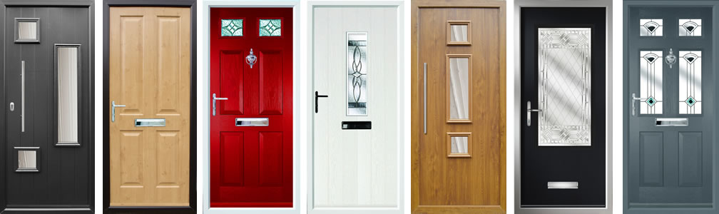 Composite door range