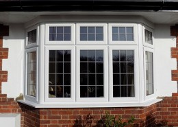 UPVC bay window cuffley