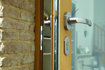 Composite door handle