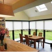 Bifold doors in kitchen