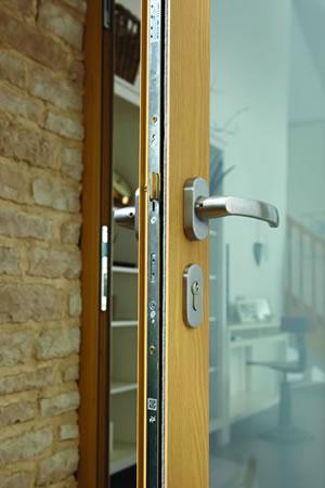 Bifold door handle