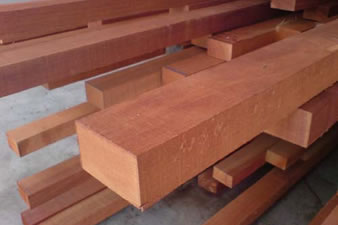 Maranti hardwood construction