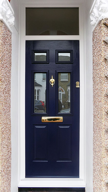Composite doors replacement composite doors enfield for Navy blue front door