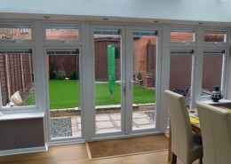 Interior of upvc conservatory