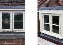 Replacement of casement windows
