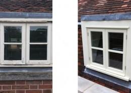 Replacement of casement windows
