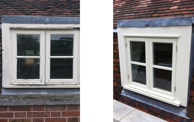Timber casement windows timber windows in enfield north for Replacement casement windows