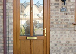 Timber effect door