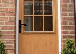 Timber effect solidor door