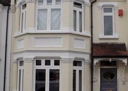 Timber windows installation