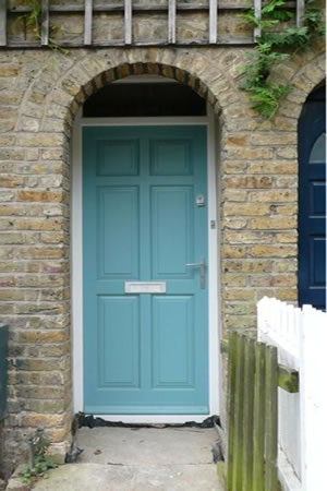Timber door installation
