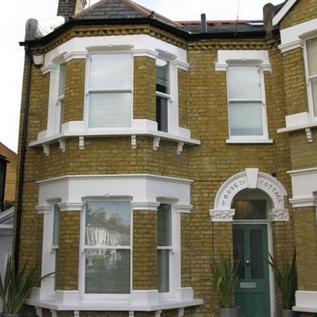 Ttimber door and sash windows