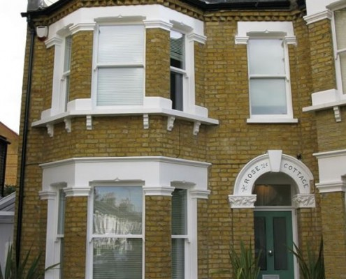 Ttimber door and sash windows