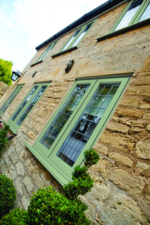 Green Timber Windows