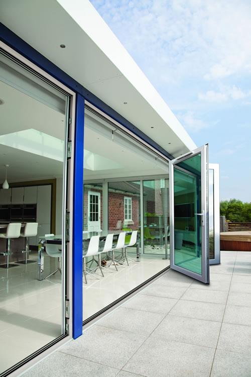 Upvc bi fold doors enfield upvc bi folding doors upvc for External kitchen doors