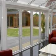 Lounge UPVC bi-fold doors