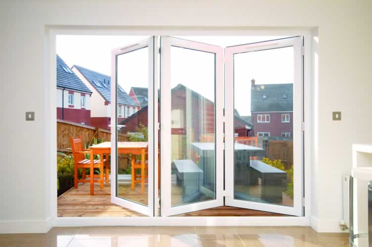 Upvc bi fold doors enfield upvc bi folding doors upvc for Upvc folding doors