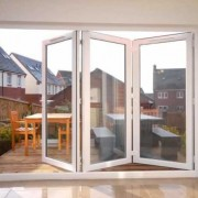 UPVC bifolds interior