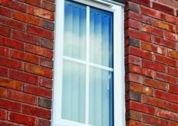 Small UPVC casement window
