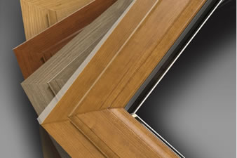 UPVC door finishes available