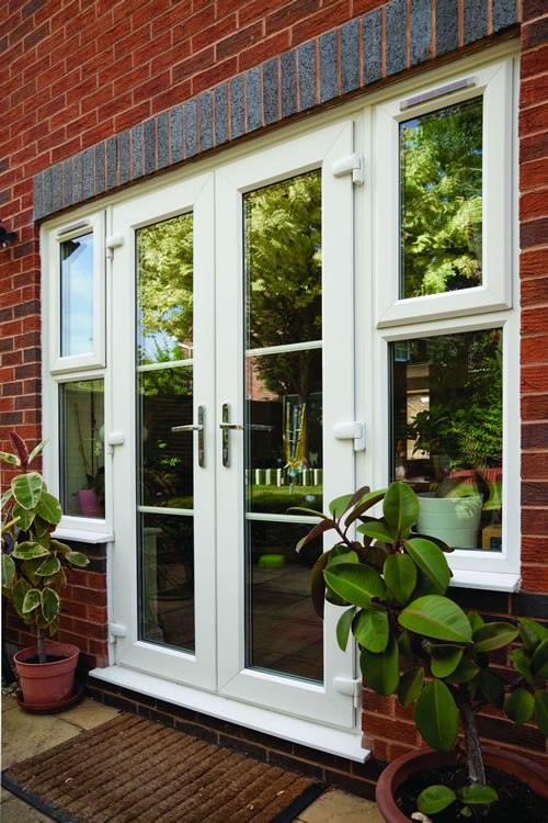 UPVC double doors