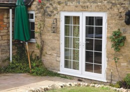 UPVC doors with georgian bars
