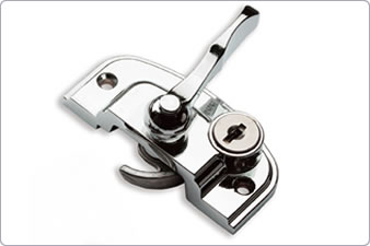 UPVC sash window lock