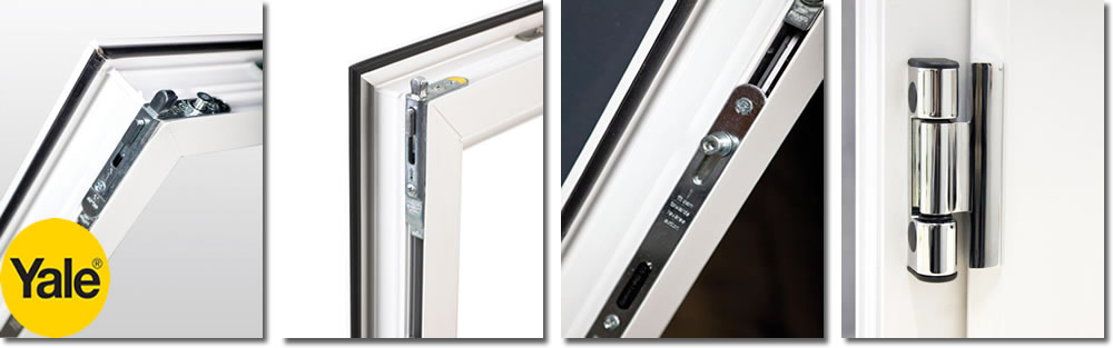 UPVC window security