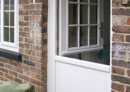 White split composite door