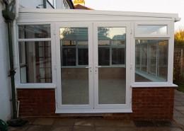 UPVC conservatory doors