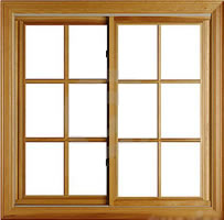 Timber window frame