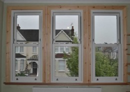 UPVC sash window installation london