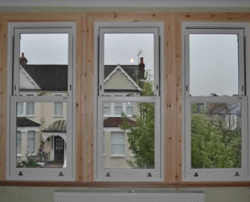 UPVC sash window installation london