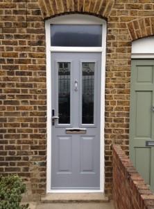 Solidoor composite door installation