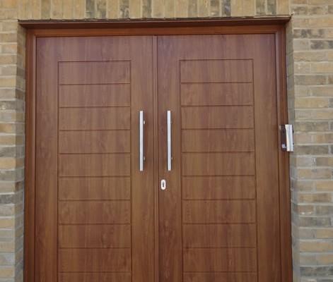 Door installation upvc front door installation for Front door installation