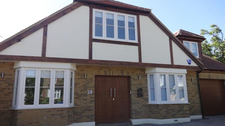 Double glazing bifold doors and composite door for Double glazing