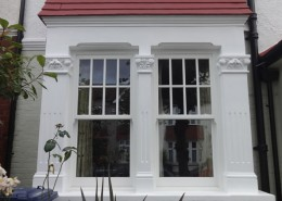 Timber sash windows finchley