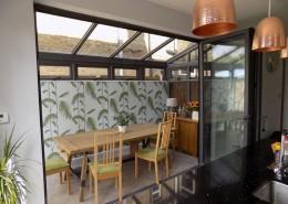 Interior of conservatory