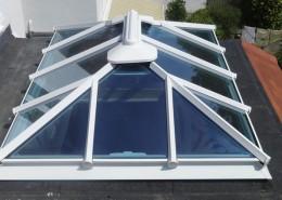 White skylight installation Enfield