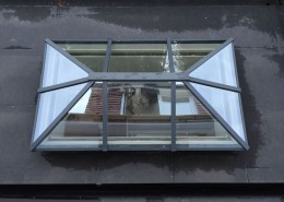 Single skylight installation