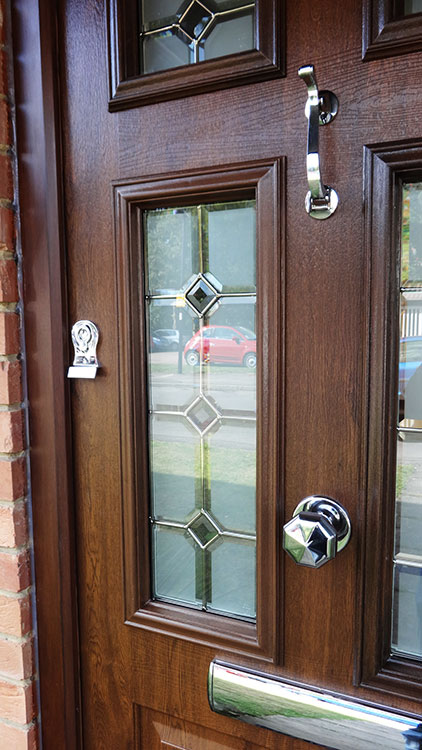 Solidor front door and timber window installation north London